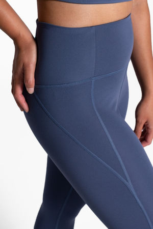 GIRLFRIEND COLLECTIVE // COMPRESSIVE HIGH RISE LEGGING - TANZANITE