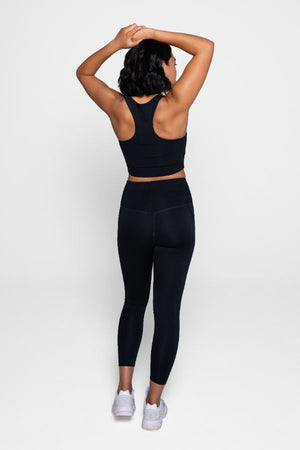 GIRLFRIEND COLLECTIVE // LITE HIGH-RISE LEGGING - BLACK