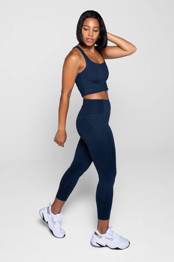 GIRLFRIEND COLLECTIVE // LITE HIGH-RISE LEGGING - MIDNIGHT