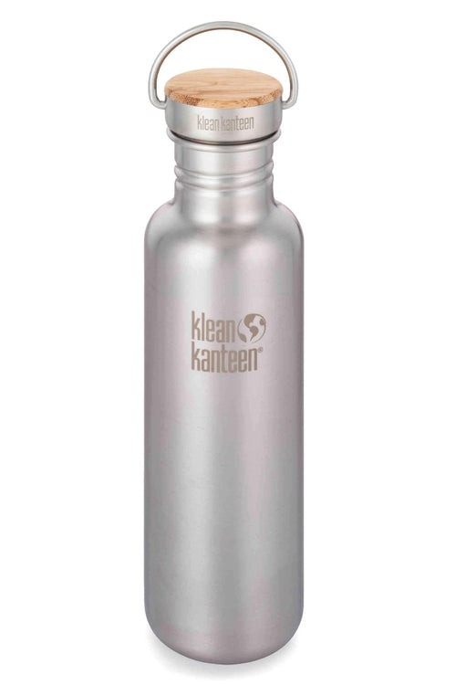 SEA YOGI // Reflect insulated water bottle with bamboo cap by Klean Kanteen, product shot