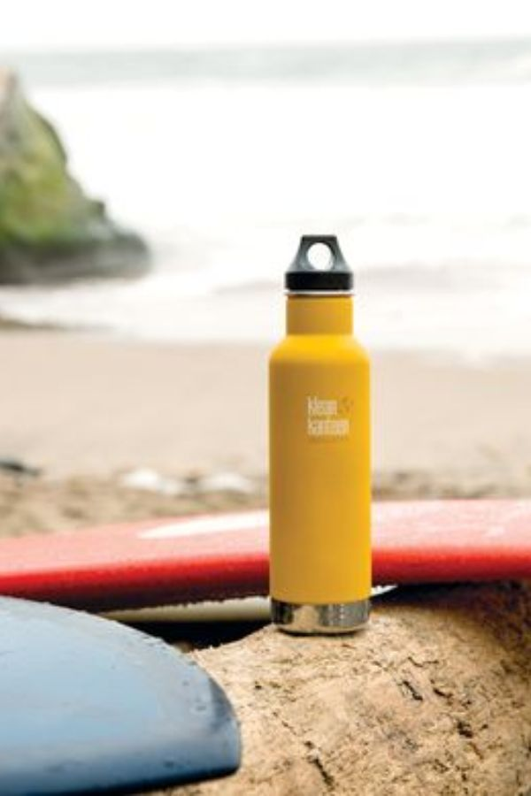 KLEAN KANTEEN // INSULATED BOTTLE 24hr COLD - LEMON CURRY