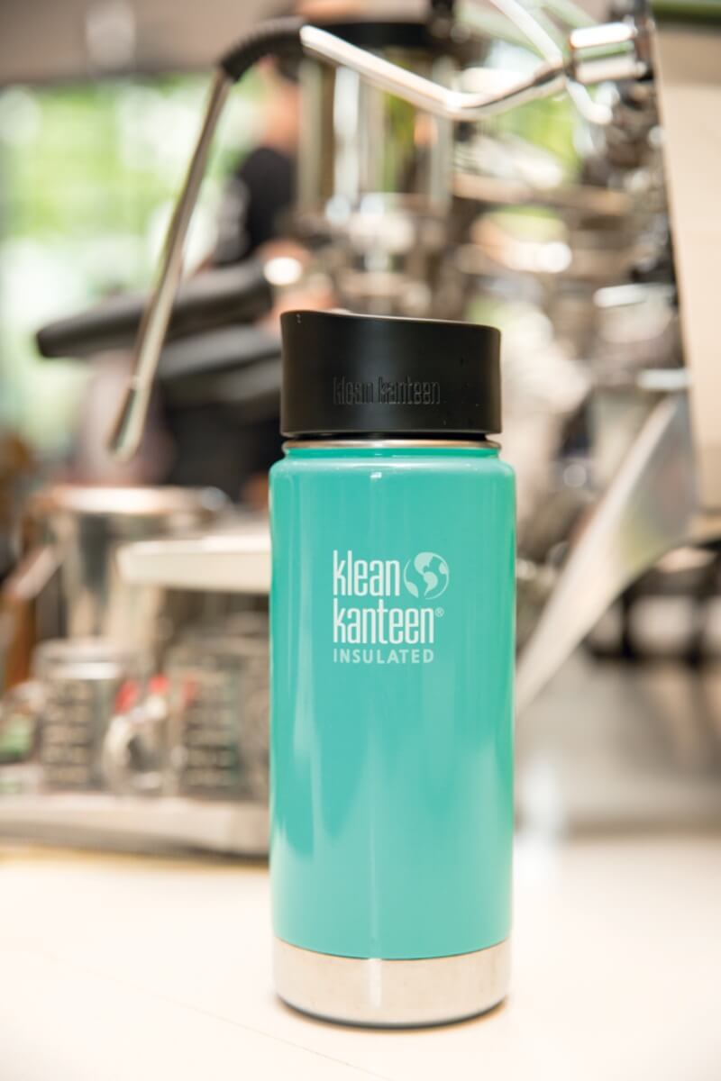 SEA YOGI // Insulated wide coffee cup, Sea Crest by Klean Kanteen, visual 1