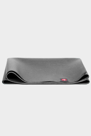 SEA YOGI // Manduka eKO Superlite Yoga Mat in Charcoal, folded