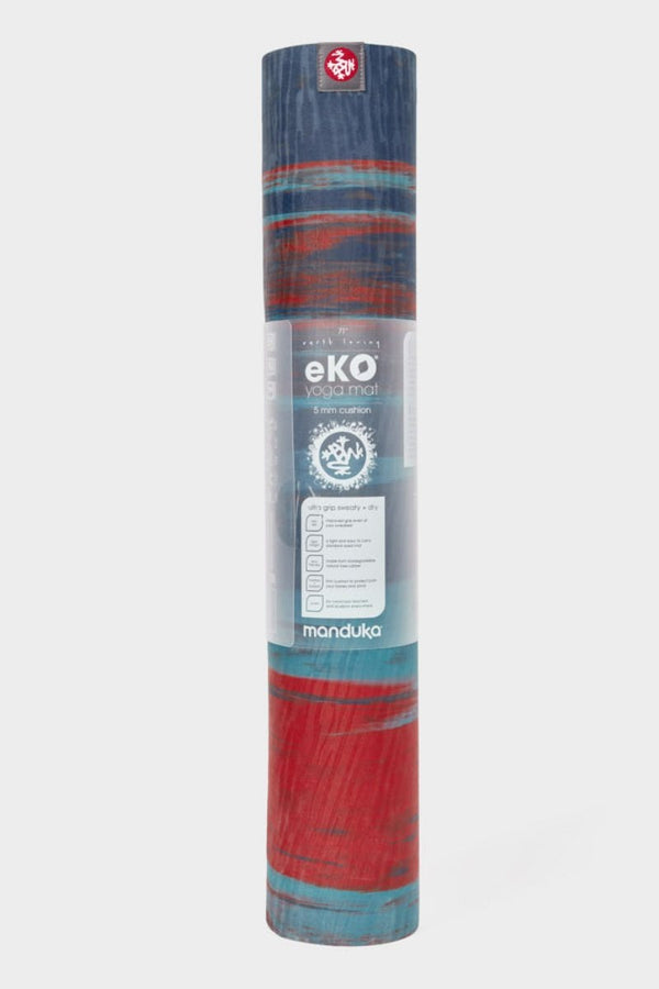 SEA YOGI // Plume Agate Eko Yoga yoga mat in 5mm by Manduka, standing