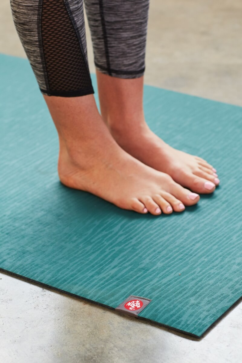 SEA YOGI // eKO Yoga Mat 5mm in Sage from Manduka, visual