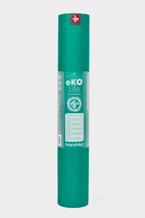 SEA YOGI // KYI Eko Yoga yoga mat in 4mm by Manduka, standing