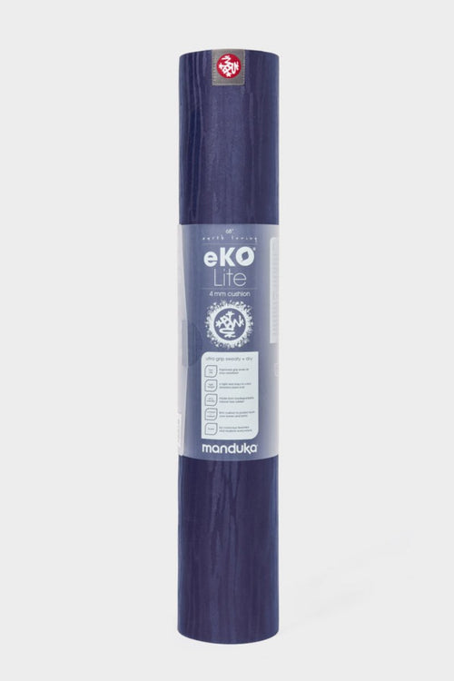 SEA YOGI // New Moon Eko Yoga yoga mat in 5mm by Manduka, standing