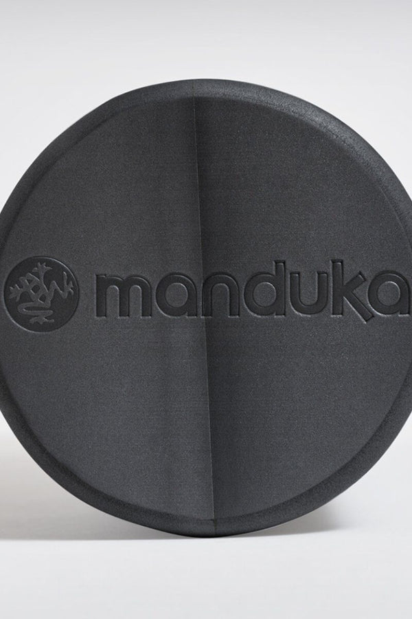 SEA YOGI // RECYCLED FOAM ROLLER, THUNDER from Manduka, logo