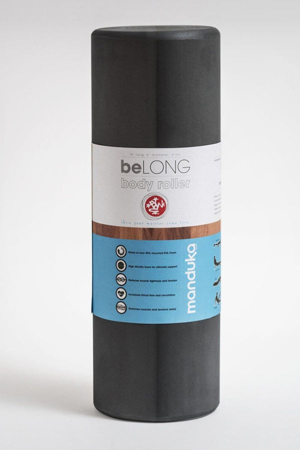 SEA YOGI // Muscle Foam Roller, Thunder by Manduka, standing