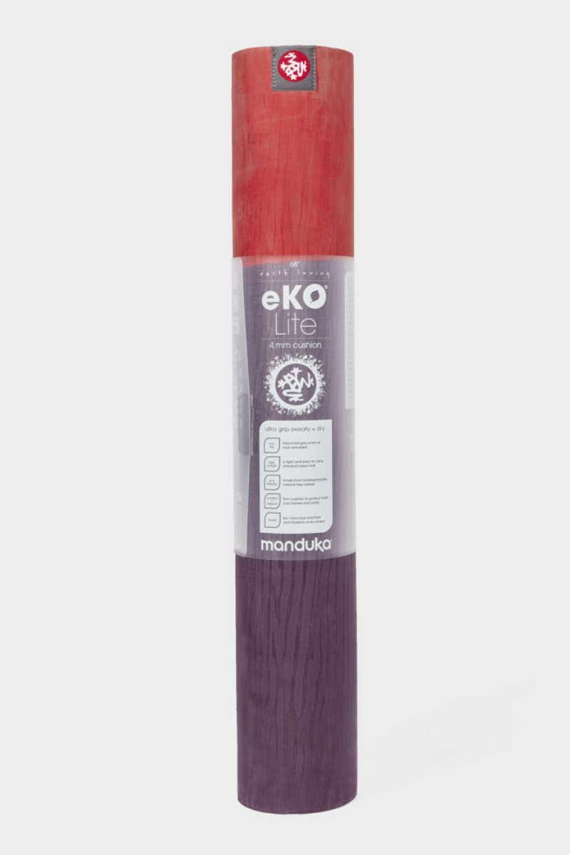 SEA YOGI // Khangai Eko Yoga yoga mat in 4mm by Manduka, standing