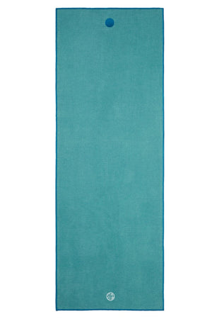 SEA YOGI // Manduka Yogitoes Mat Towel, Lotus, full