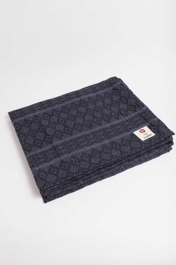 MANDUKA // COTTON YOGA BLANKET - THUNDER
