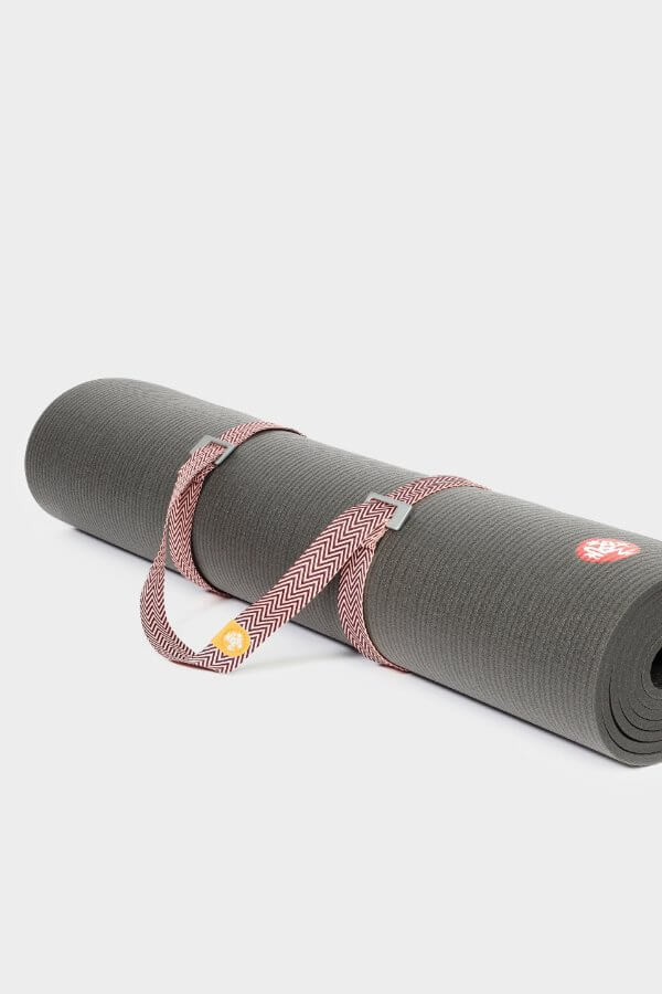 SEA YOGI // Manduka Go Move Mat carrier indulge, on mat