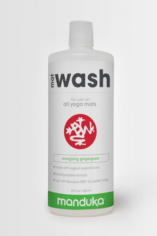 SEA YOGI // Manduka mat wash Gingergrass, 946ml bottle