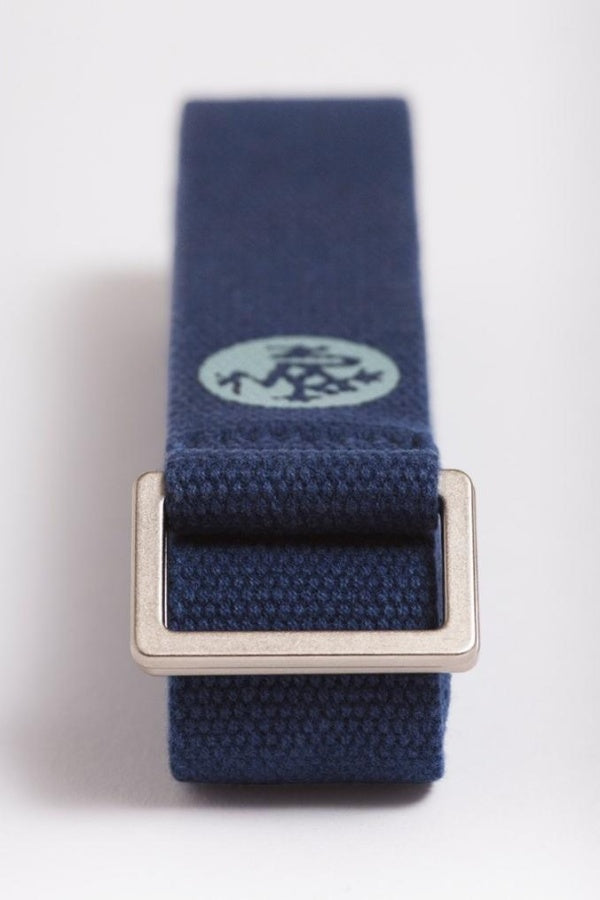 MANDUKA // UNFOLD YOGA STRAP - MIDNIGHT