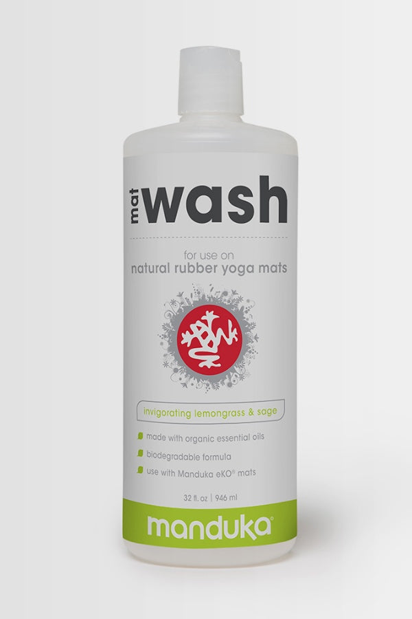 MANDUKA // MAT WASH SPRAY - 946ml - LEMONGRASS & SAGE