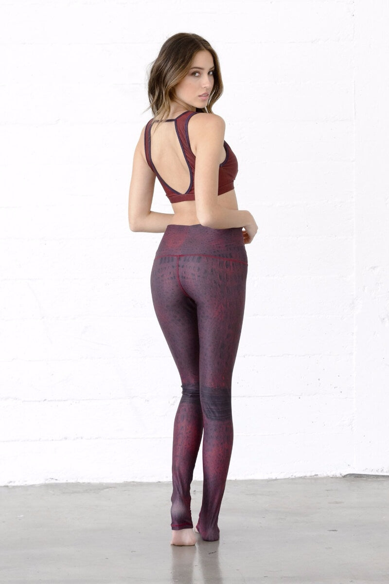 SEA YOGI Twilight leggings by Niyama Sol, Yoga shop online, back