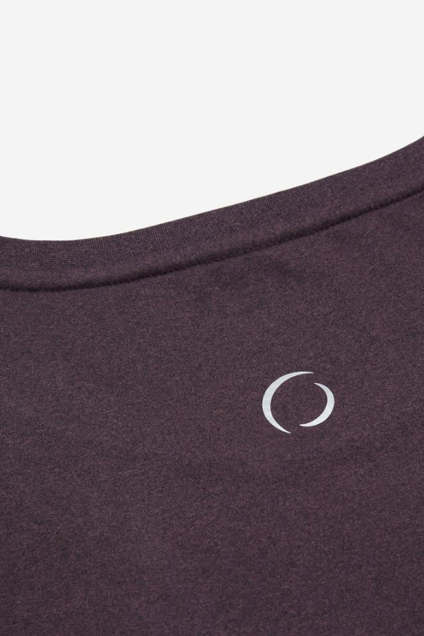 OHMME // ASTRAL TEE YOGA SHIRT - FIG