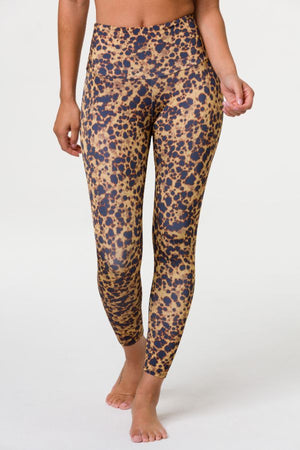 ONZIE // HIGH BASIC MIDI LEGGING - TORTOISE SHELL