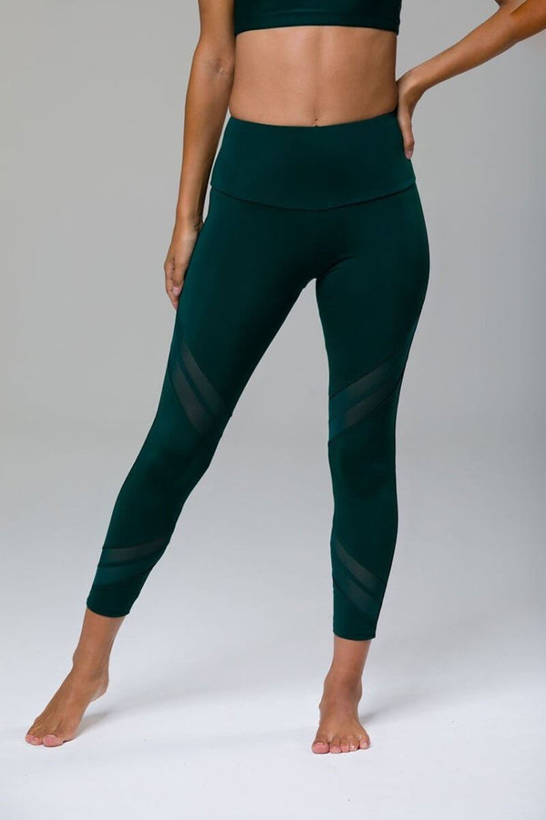 SEA YOGI //  Sporty Legging by Onzie in Alpine, front