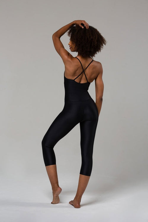 ONZIE // LONG LEOTARD, ONE PIECE - BLACK