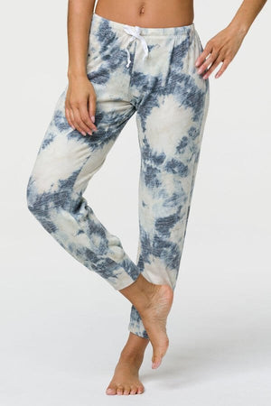SEA YOGI // Onzie weekend jogger in tie dye, front