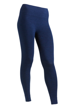 RUN & RELAX // BANDHA LEGGINGS - MIDNIGHT BLUE MELANGE