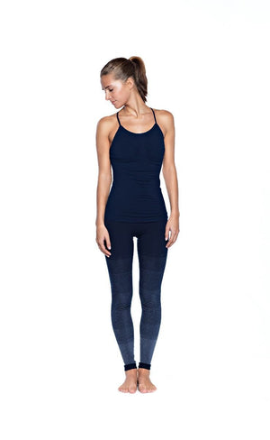 RUN & RELAX // KARNA BAMBOO YOGA CAMI - MIDNIGHT BLUE