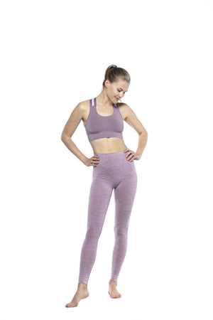 RUN & RELAX // WIDE ELASTIC BRA - WARM LILAC