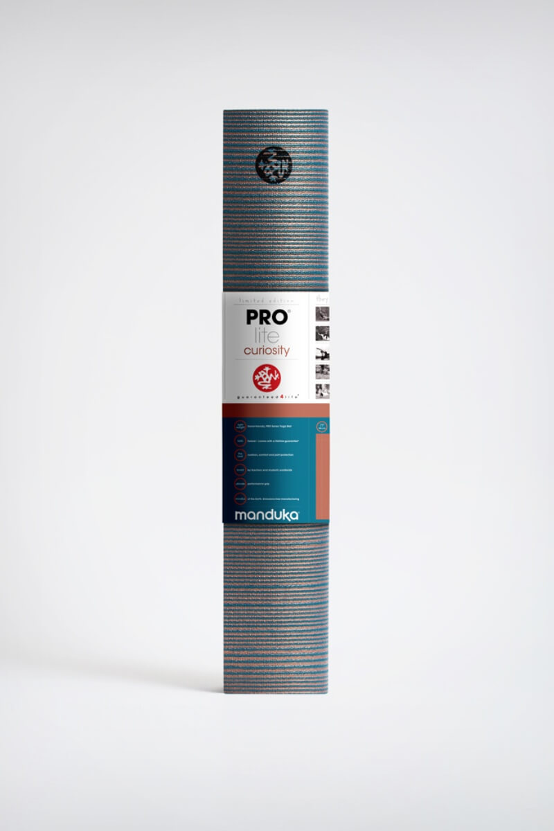 SEA YOGI // Curiosity Prolite Yoga mat in 5mm by Manduka, Online Yoga Shop, standing