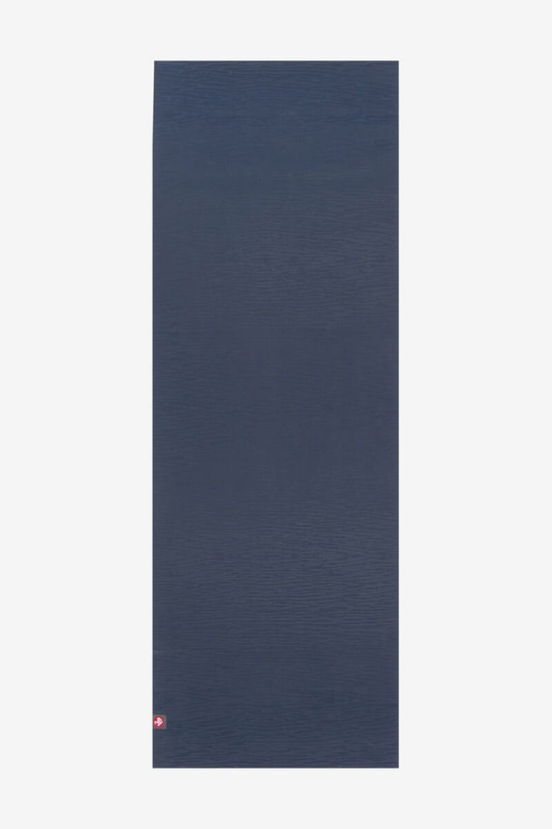 SEA YOGI // ekoLite yoga mat in 4mm and midnight style by Manduka, Online Yoga Shop, spread out