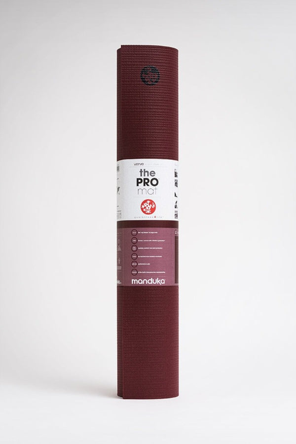 SEA YOGI // Pro Yoga Mat, 6mm thick and in Verve style by Manduka, standing