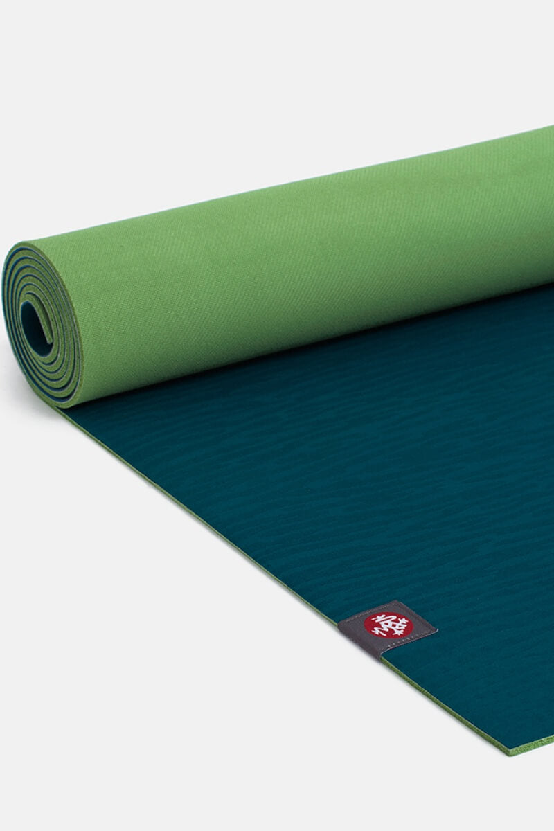 SEA YOGI // Maldive Eko Yoga yoga mat in 5mm by Manduka, rolled