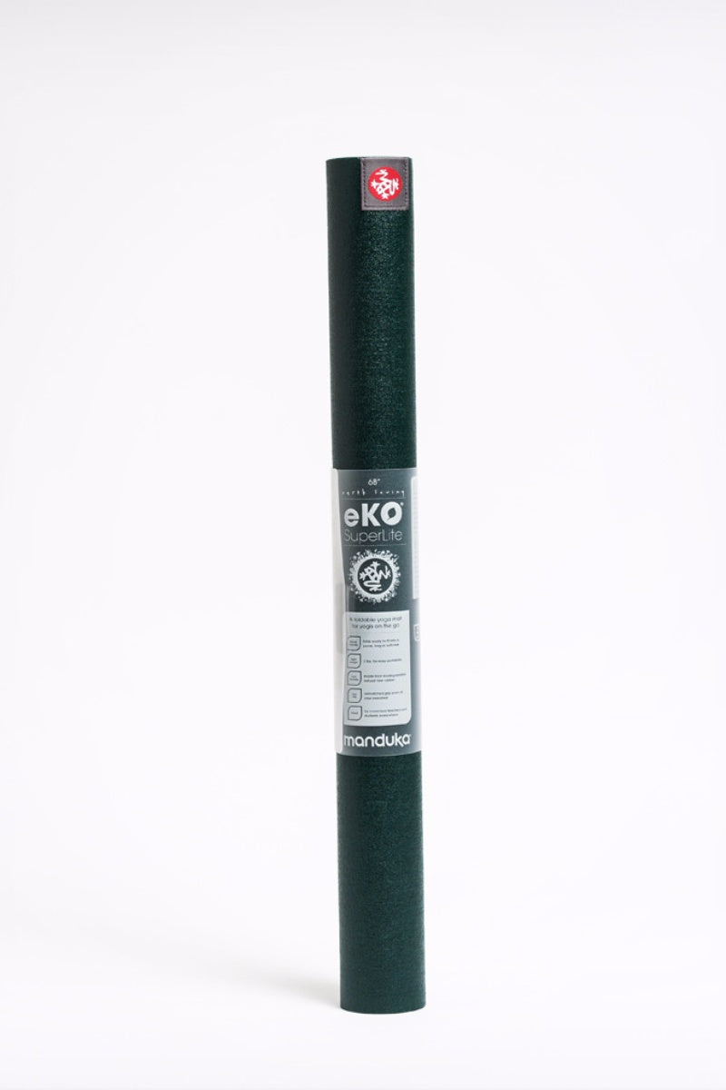 SEA YOGI // eKO Superlite yoga mat in Thrive style, only 1kg in weight by Manduka, standing image
