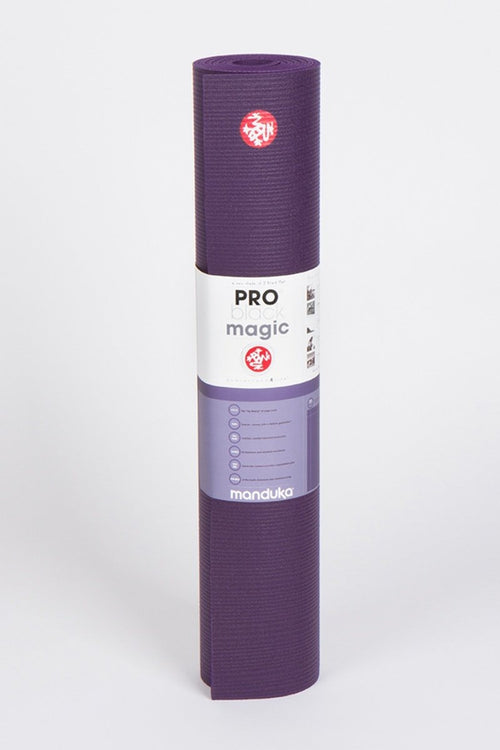 SEA YOGI // Pro Ultimate mat, 6mm thick and in Black Magic style by Manduka, spread out image