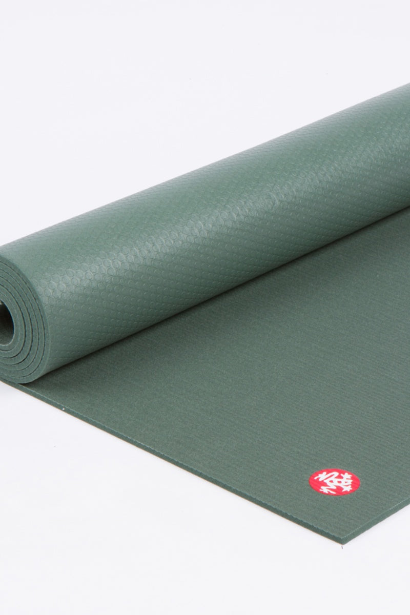 SEA YOGI // Pro Ultimate mat, 6mm thick and in Black Sage style by Manduka, rolled out image