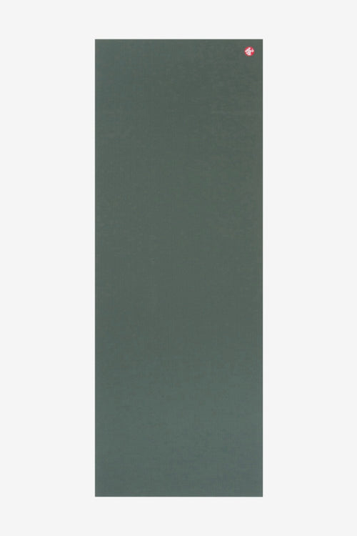 SEA YOGI // Pro Ultimate mat, 6mm thick and in Black Sage style by Manduka, spread out image