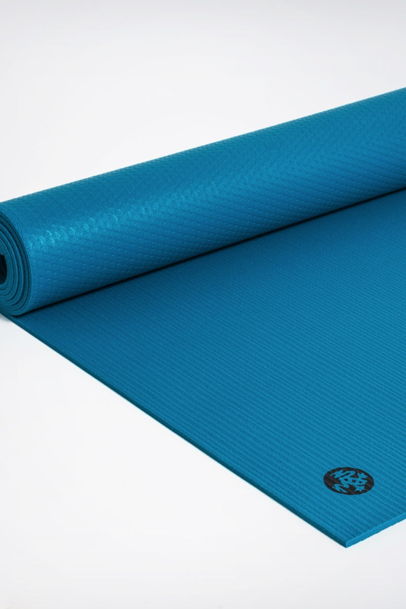 SEA YOGI // Pro Ultimate mat, 6mm thick and in Harbour style by Manduka, rolled out image