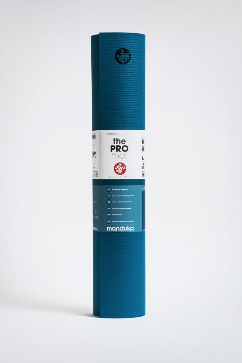 SEA YOGI // Pro Ultimate mat, 6mm thick and in Harbour style by Manduka, standing image