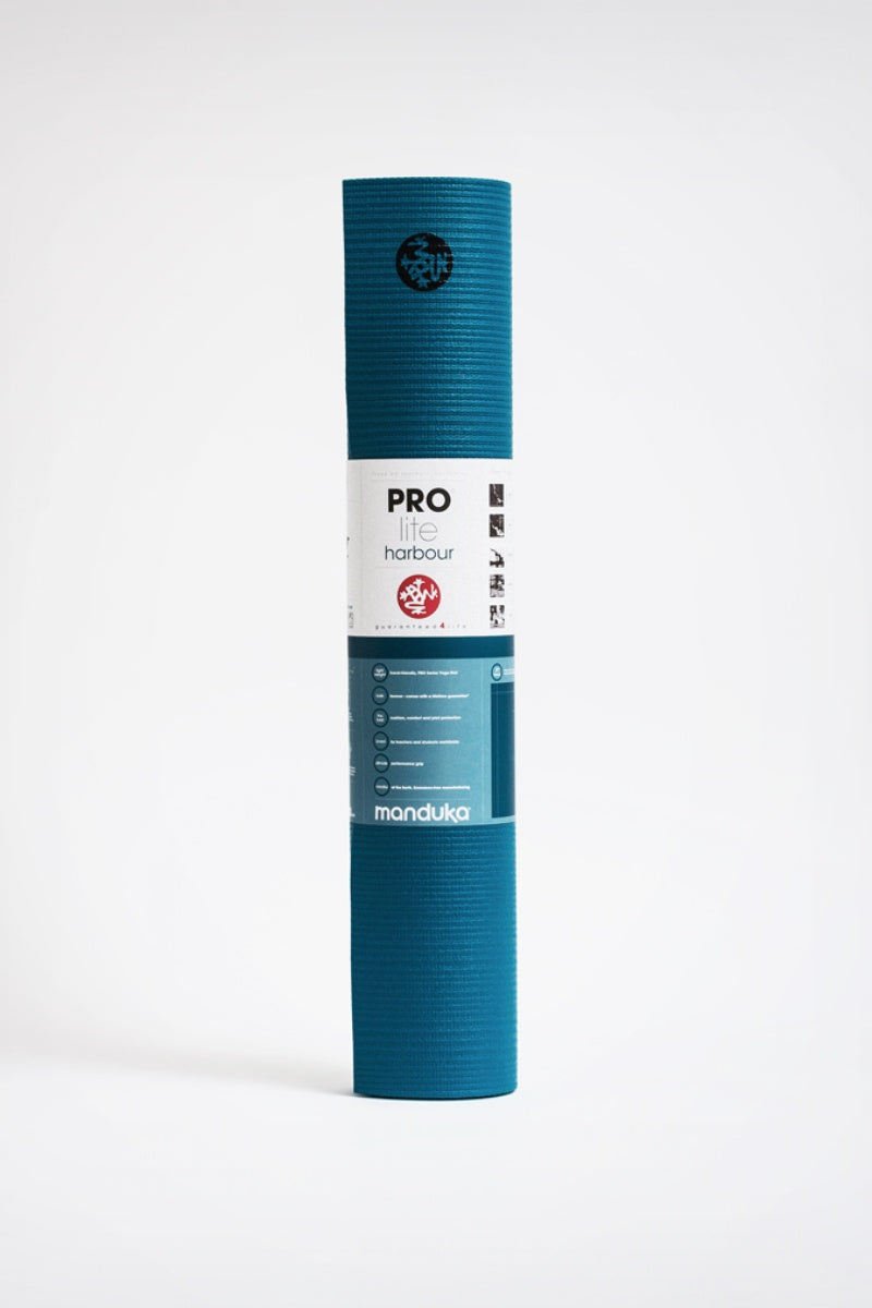 SEA YOGI // Prolite mat, 5mm thick and in Harbour style by Manduka, standing image