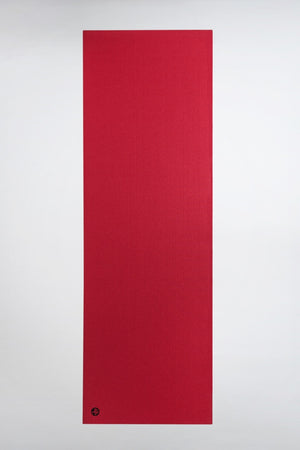 SEA YOGI // Prolite mat, 5mm thick and in Passion red style by Manduka, spread out image