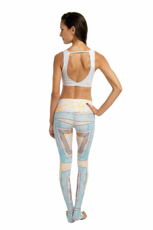 SEA YOGI // Navajo Endless leggings by Niyama Sol, Online Yoga boutique, back