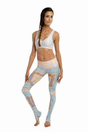 SEA YOGI // Navajo Endless leggings by Niyama Sol, Online Yoga boutique, front