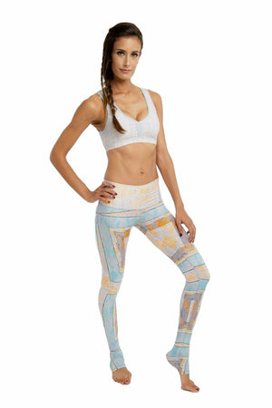 SEA YOGI // Navajo Endless leggings by Niyama Sol, Online Yoga boutique, right side
