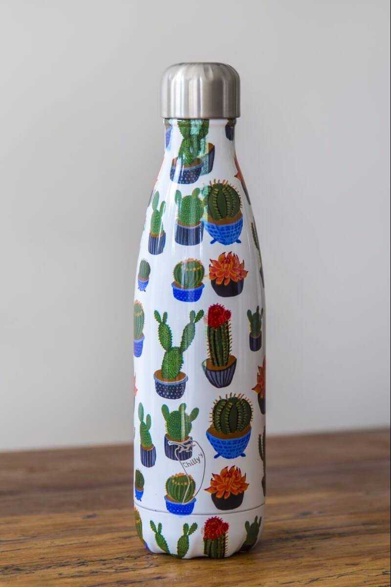 CHILLY // CACTUS WATER BOTTLE - 12H HOT / 24H COLD