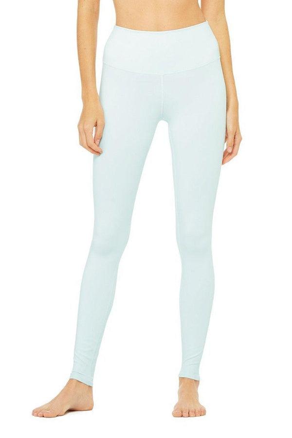 Sea Yogi - Alo Yoga Airlift Leggings in Marine light Blue front - tienda de yoga