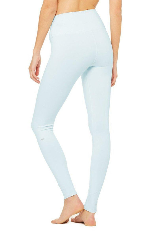 Sea Yogi - Alo Yoga Airlift Leggings in Marine light Blue back - tienda de yoga