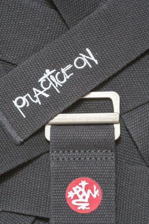 Sea Yogi - Align Yoga Strap Belt from Manduka in Thunder gray - colour swatch