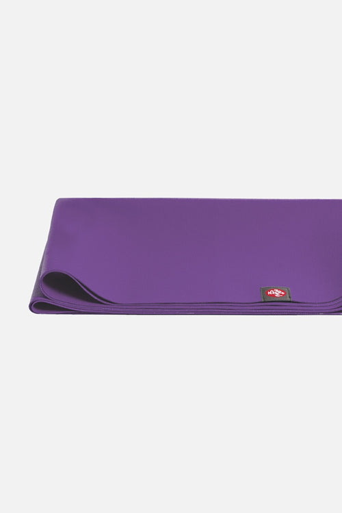 SEA YOGI Intuition Superlite Yoga Mat from Manduka - folded - purple - Online Yoga shop from Europe