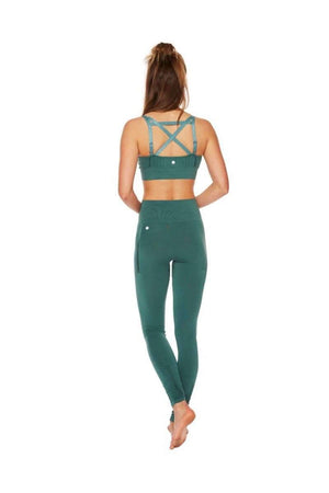 RUN & RELAX // BAMBOO MATERNITY BRA - MUTED GREEN
